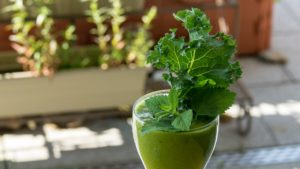 Green Juice made with Omega Juicer